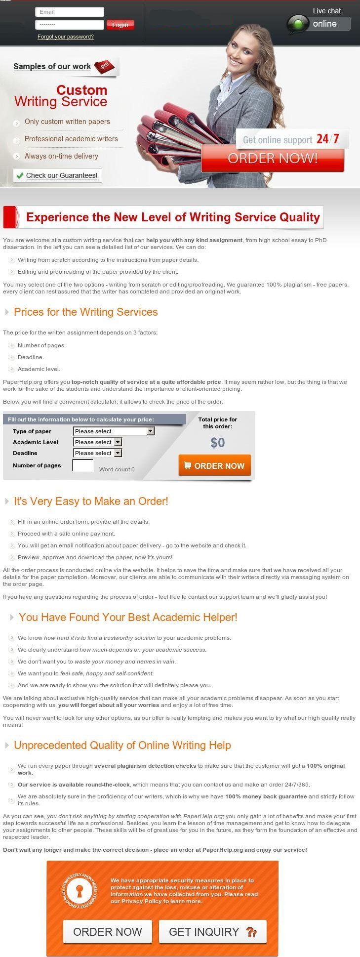 Buying research papers online
